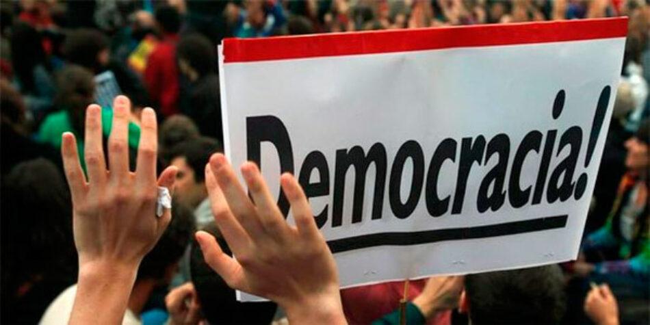 La Cumbre Social reclama «avanzar en la democracia»