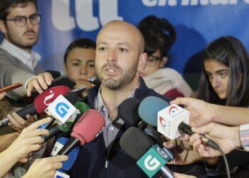 Luís Villares valora o resultado electoral de En Marea