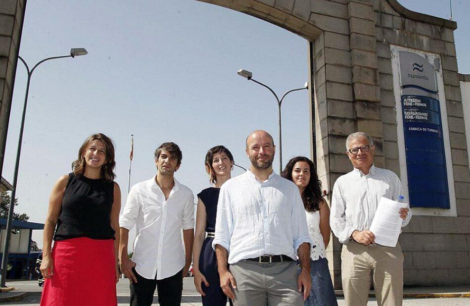En Marea aposta por unha política industrial que faga frente aos incumprimentos de Alberto Núñez Feijóo