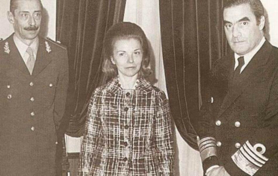 «La ex Presidenta de Argentina Isabel Martínez de Perón, que reside en España, debe ser imputada y extraditada por delitos de genocidio»