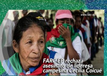 Colombia: Asesinan a líder social en predio de zona de concetración en el Cauca