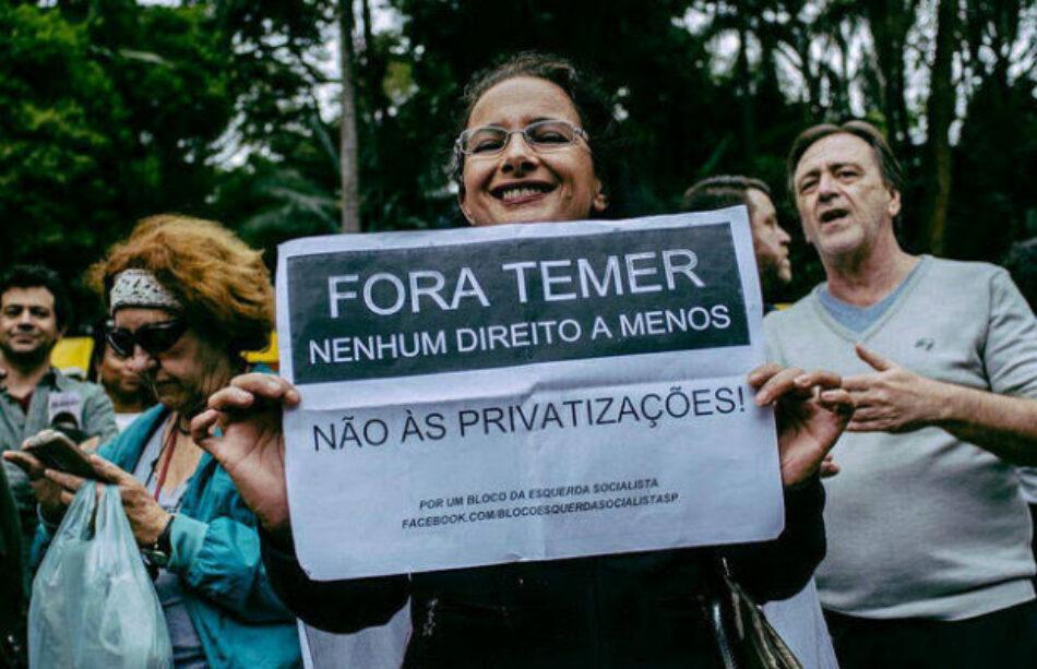 Brasil: Estas son 5 propuestas del gobierno ilegítimo de Temer que acaban con los derechos laborales