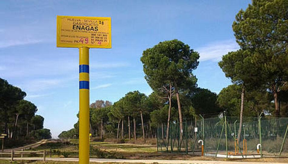 Podemos solicita la paralización cautelar de las obras del proyecto gasístico de Gas Natural en Doñana