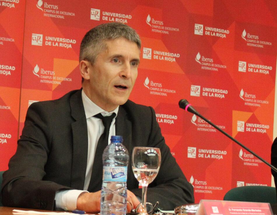 Jueces para la Democraica solicita el cese de Grande Marlaska al Consejo General del Poder Judicial