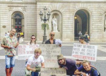 La Diada de los Sin Techo de Barcelona