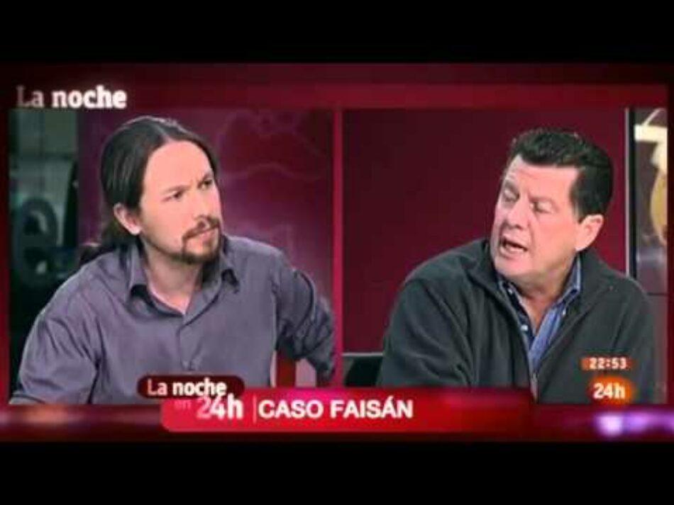 Condenan a Alfonso Rojo por injurias a Pablo Iglesias