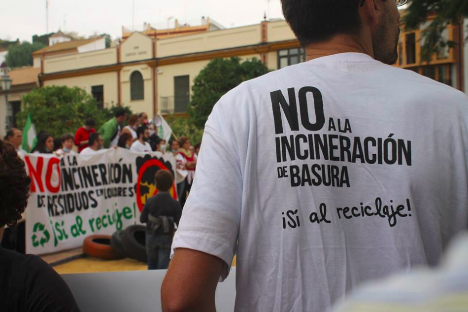 EQUO y el Parlamento Andaluz dice no a la incineración en Alcalá de Guadaira