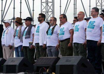 Foto reportaje: El primer día de la X Conferencia Guerrillera de las FARC-EP