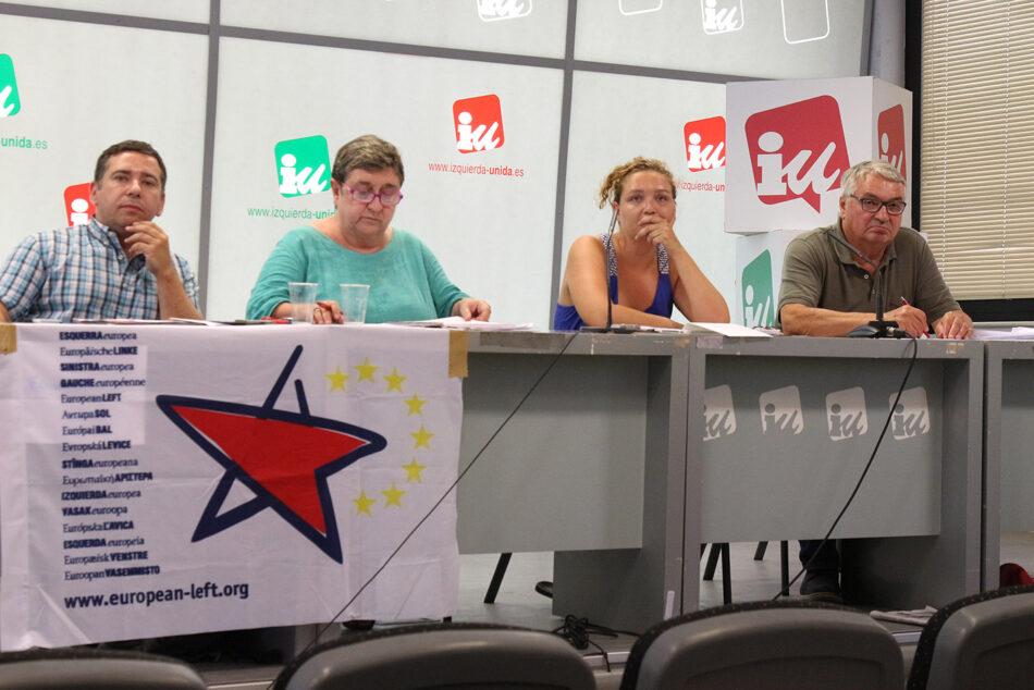 El PIE participó en la Universidad de Verano del PCE en Madrid para debatir de la izquierda europea y la crisis de la UE