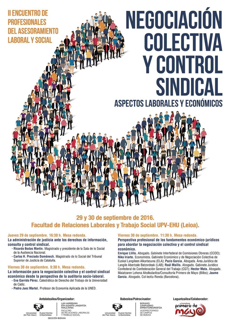 Nuevo encuentro de profesionales del asesoramiento laboral y social en la UPV-EHU