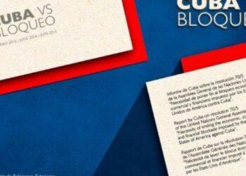 Cuba presenta ante la ONU informe sobre daños del bloqueo de EE.UU.