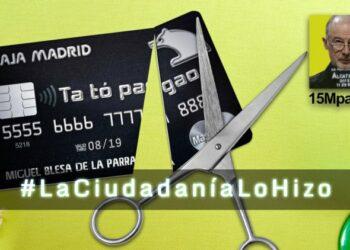 Cómo salieron a la luz las tarjetas negras de Caja Madrid: #LaCiudadaníaLoHizo