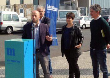 En Marea presenta en Santiago o seu programa económico para Galicia