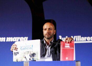 """Luís Villares: «O verdadeiro programa do PP ven con suplemento, o Código Penal"""""""