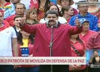 Maduro: Hemos derrotado una intentona golpista