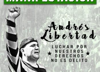 El SAT convoca manifestación ante denegación de tercer grado a Andrés Bódalo
