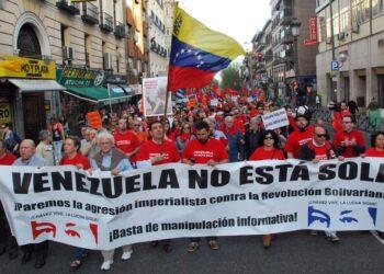 Organizaciones sociales y políticas contra la intentona golpista en Venezuela