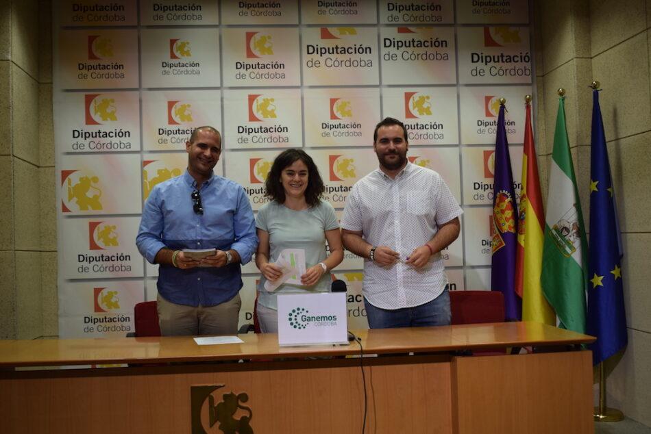 Ganemos Córdoba censura que Diputación reparta tres millones de euros 'a dedo' entre municipios de la provincia