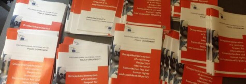 Palestina, Crimea, Sahara Occidental: documento UE pide coherencia
