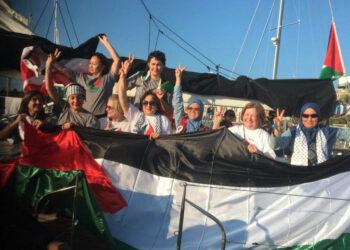 El velero Zaytouna-Oliva parte hacia Gaza en su última etapa