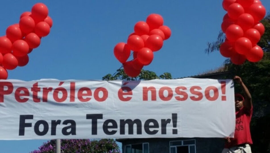 Brasil: Trabajadores brasileños inician huelga contra privatizaciones promovidas por Temer