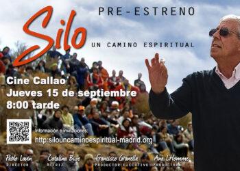 """Pre-estreno en Madrid del documental """"SILO UN CAMINO ESPIRITUAL"""", ganador de varios premios"""