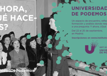 La Universidad de Podemos vuelve con el objetivo de reflexionar sobre el futuro del partido
