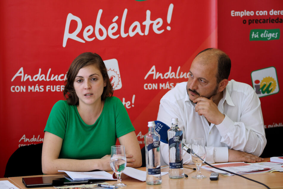 IU celebra la municipalización de la Ayuda a Domicilo en Jerez de la Frontera