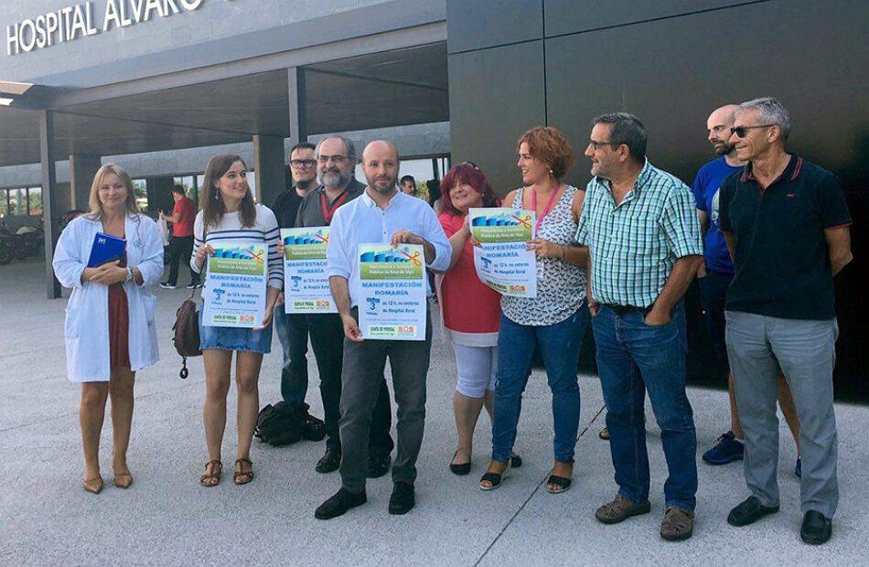 """Luís Villares: """"Feijóo dinamitou a sanidade pública galega causando moitísimo sufrimento á xente"""""""