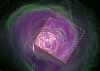 Publican última foto tomada por un satélite antes de desaparecer