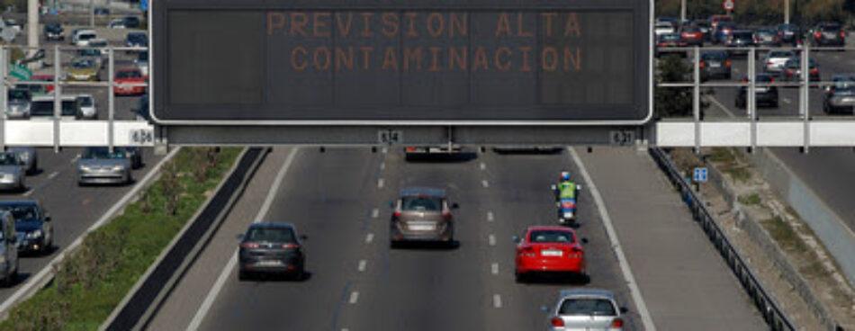 Las grandes ciudades españolas se comprometen con Greenpeace a reducir las emisiones del transporte a la mitad