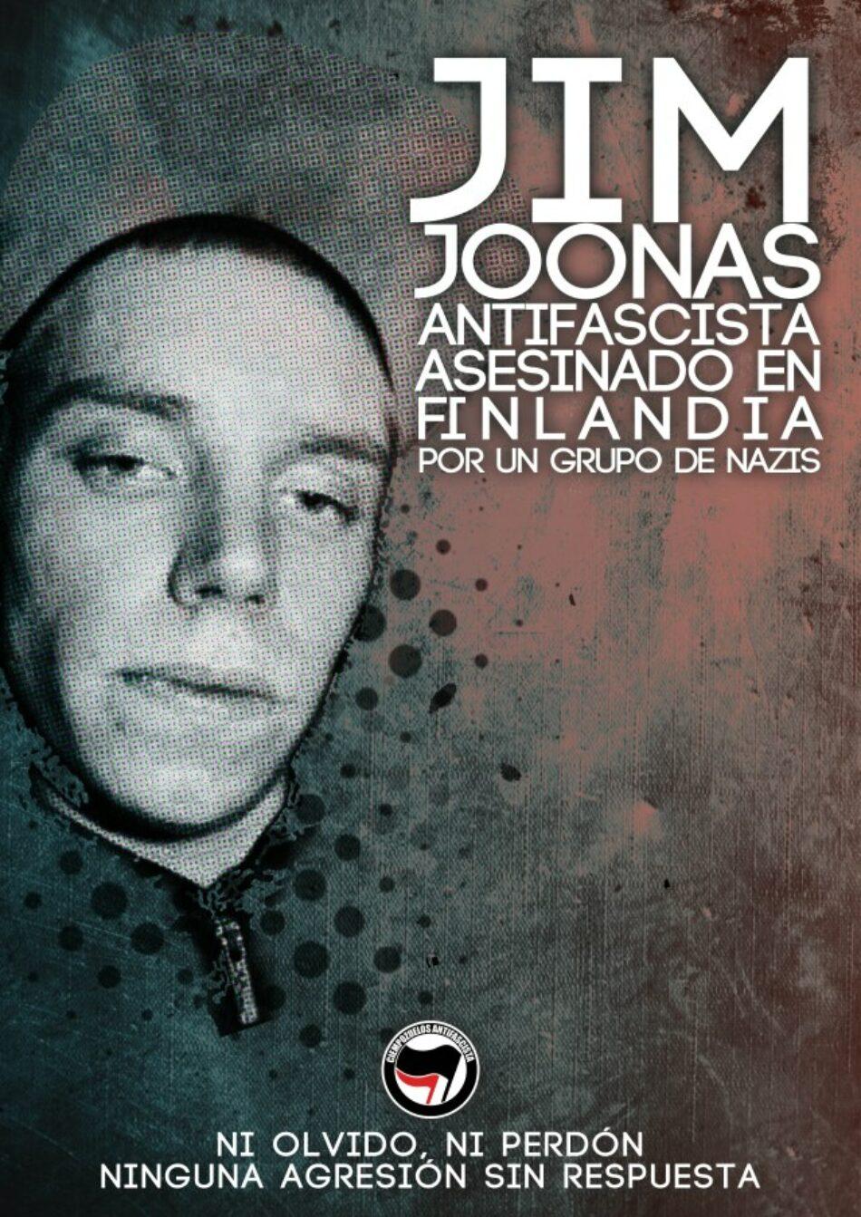 Finlandia: Jim Joonas, antifascista asesinado en Helsinki