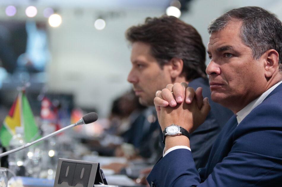 Correa: MNOAL debe regirse por compromiso democrático en función de los pueblos