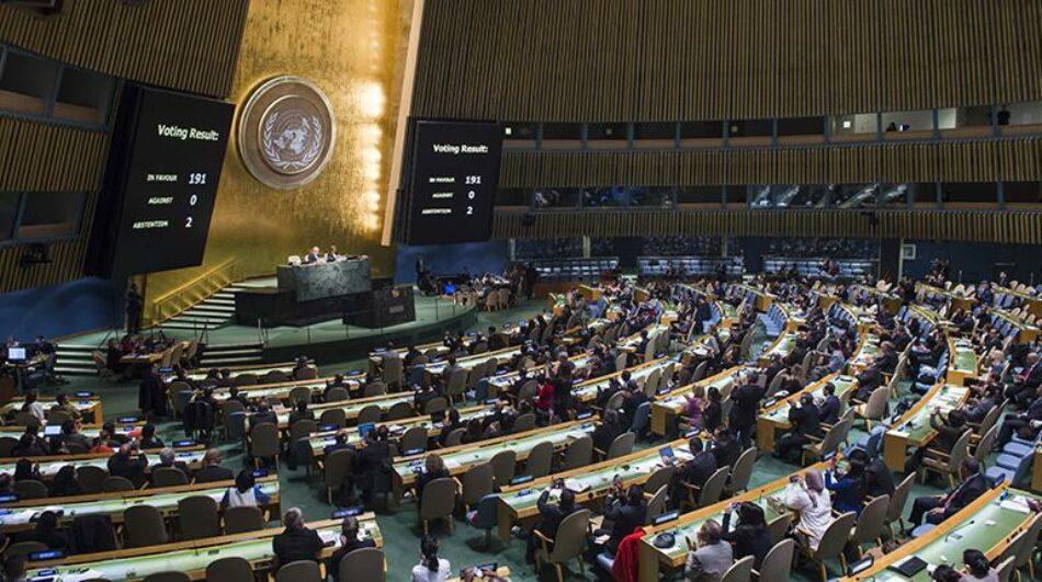 España vota contra la resolución de la ONU para negociar la prohibición de las armas nucleares