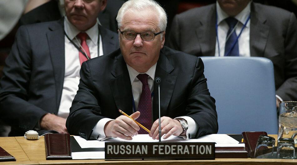 ONU: Rusia veta el proyecto de resolución que buscaba «proteger a al Nusra» en Alepo