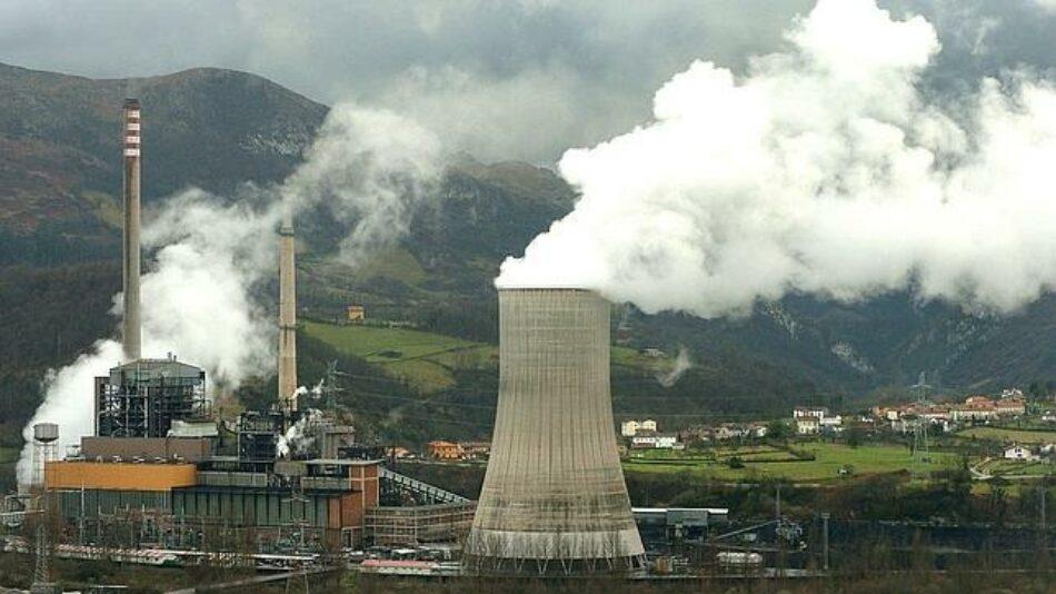 «La contaminación de las centrales térmicas asturianas causa 245 muertes al año»