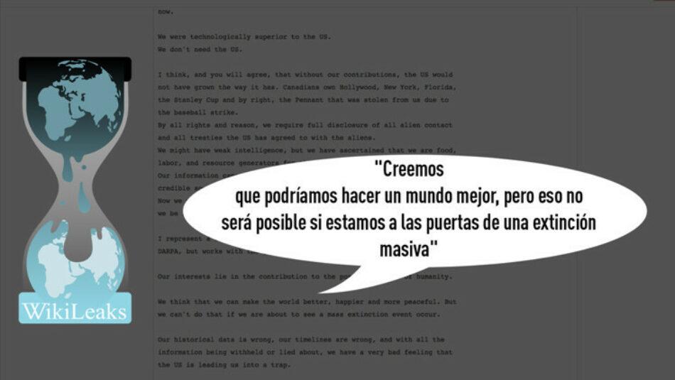 Un correo electrónico a Podesta advierte del peligro de una extinción global dentro de 20 años