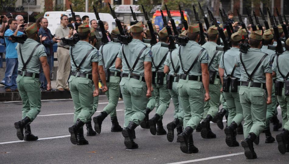 Unidos Podemos pregunta por las condiciones de los profesionales de las Fuerzas Armadas para el 12 de octubre