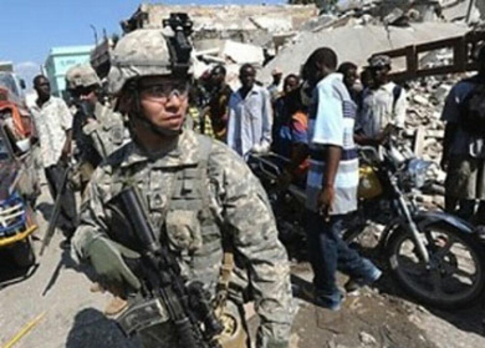 Marines de EE.UU. con Policía Nacional Haitiana en operaciones conjuntas en el Sur