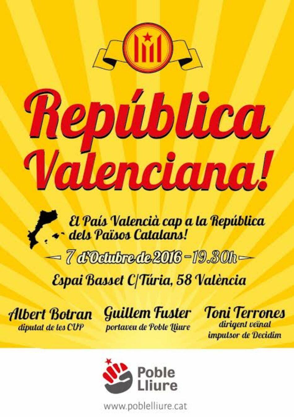 Acte de Poble Lliure a València