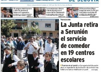 Represión a dos trabajadores en 'El Adelantado de Segovia'