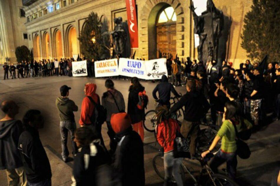 """Sindicato policial demanda a joven del Sindicato de Estudiantes de Izquierda de Zaragoza y a Izquierda Diario por """"calumnias e injurias"""" a la UAPO"""