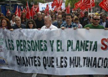 Las movilizaciones contra el CETA continúan a pesar del acuerdo belga
