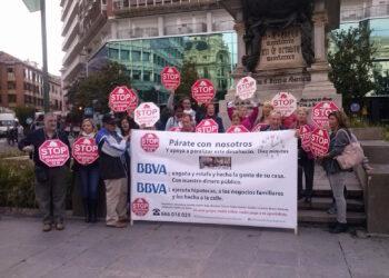 Stop Desahucios Granada exige a BBVA la inmediata paralización de un desahucio