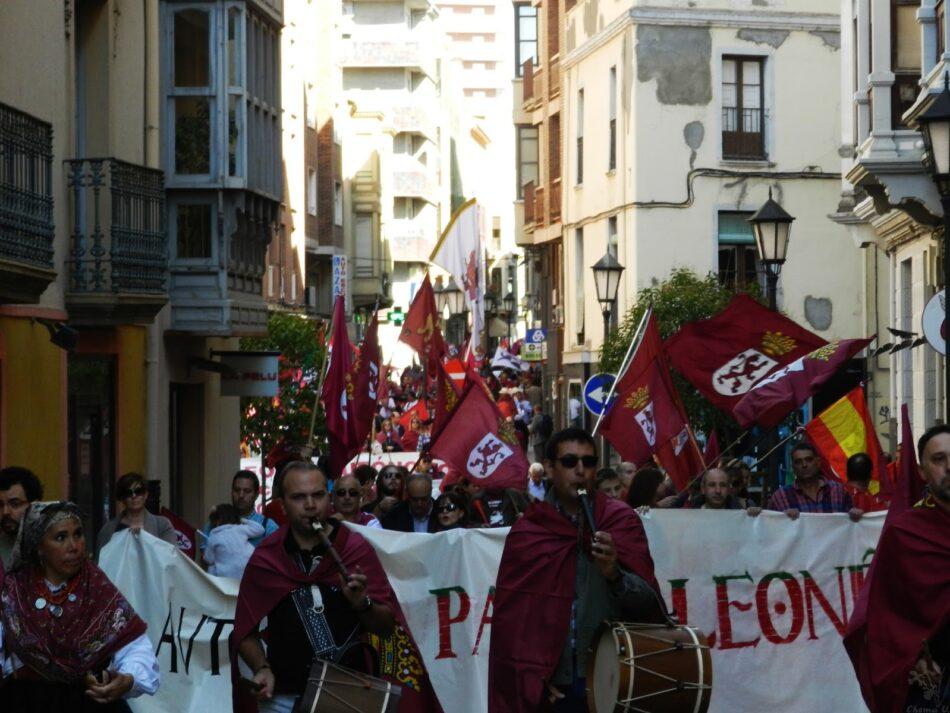 Más de 1.000 personas se manifiestan en Zamora por la Región Leonesa