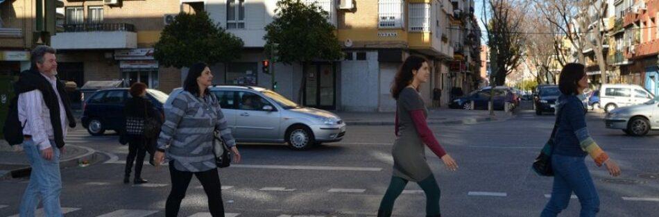 EQUO reivindica el protagonismo del peatón en nuestras ciudades y pide priorizar espacios para trasladarse caminando