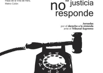 La PAH se moviliza ante el Tribunal Supremo ante los abusos bancarios y los desahucios