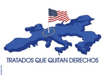 El PCE apoya las movilizaciones contra el TTIP y el CETA