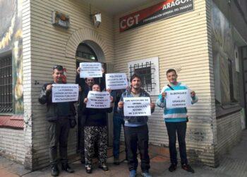 Los colectivos sociales exigen derechos para los sin techo de Zaragoza