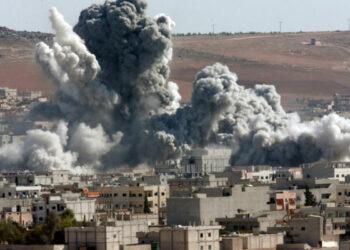 Coalición con EEUU al frente destruye infraestructura siria y ataca a civiles y al Ejército